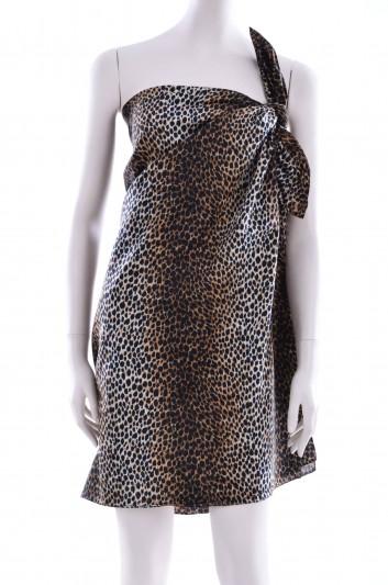 Dolce & Gabbana Pareo Estampado Leopardo Mujer - IS050W G9003