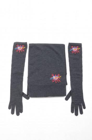 Dolce & Gabbana Women DGLovesLondon Scarf and Gloves Set - IY098W JAVDH
