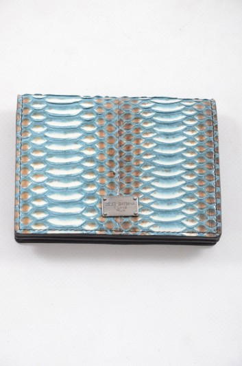 Dolce & Gabbana Men Snake Leather Cardholder - BP1643 AN371