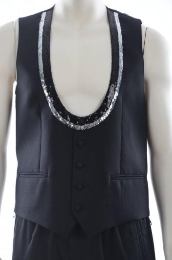 Dolce & Gabbana Men Waistcoat - G7969T FM3D7