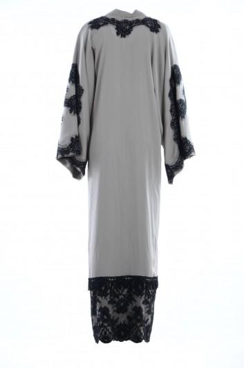 Dolce & Gabbana Abaya Estampado Leopardo Mujer - F6WC4T FUABF