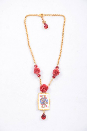 Dolce & Gabbana Women Queen of Hearts Necklace - WNK4C1 W1111