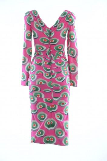Dolce & Gabbana Vestido Medio Mujer - F64J2T FSAOS