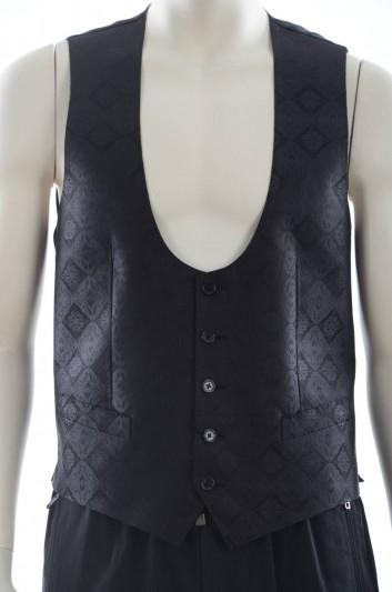 Dolce & Gabbana Chaleco Seda Hombre - G7950T FJ1EN