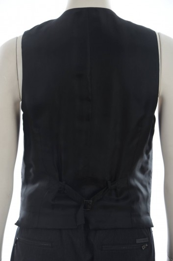 Dolce & Gabbana Men Silk Waistcoat - G7950T FJ1EN