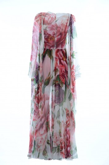 Dolce & Gabbana Women Silk Floral Dress - F69U1Z GDJ18
