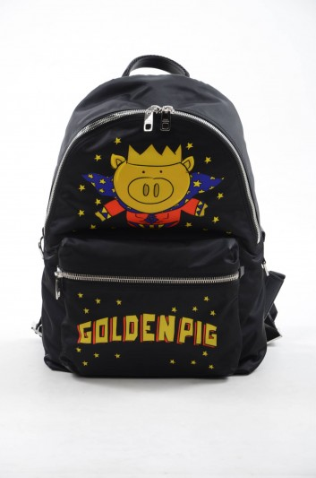 Dolce & Gabbana Men Goldenpig Backpack - BM1607 AZ741