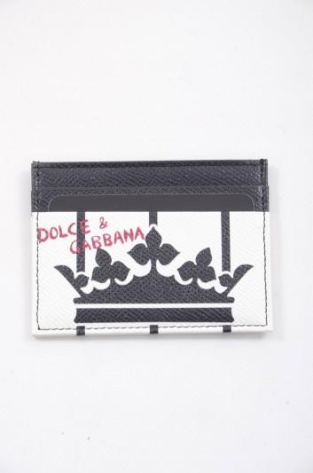 Dolce & Gabbana Men Leather Cardholder - BP0330 AI475