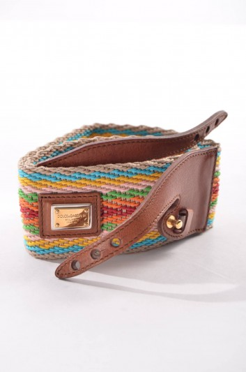 Dolce & Gabbana Cinturón Banda Placa Mujer - BE0898 A9622