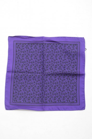 Dolce & Gabbana Men Silk Handerkerchief - GR412E G0WKB