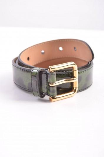 Dolce & Gabbana Cinturón Estampado Leopardo Mujer - BE0610 A1922