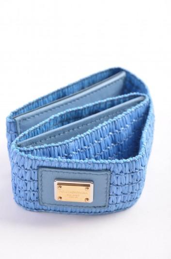 Dolce & Gabbana Cinturón Banda Placa Mujer - BE0761 A7530