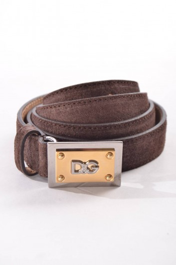 Dolce & Gabbana Cinturón Placa Mujer - BE0879 A1859
