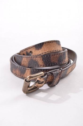 Dolce & Gabbana Cinturón Estampado Leopardo Mujer - BE0844 B9392