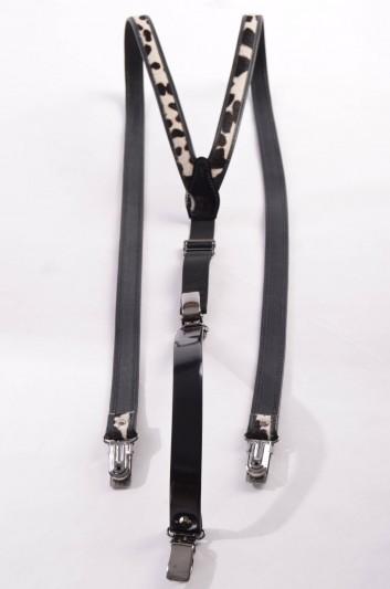 Dolce & Gabbana Women Fur Suspenders - BE0680 A9AM1