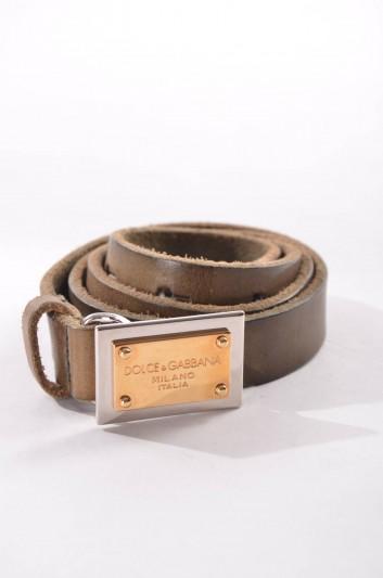 Dolce & Gabbana Cinturón Placa Mujer - BE0795 A1779