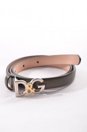Dolce & Gabbana Cinturón Logo Mujer - BE0802 A1121