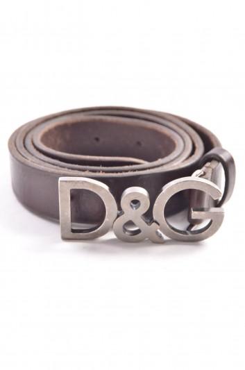 Dolce & Gabbana Cinturón Logo Hombre - BC3784 A1174