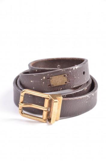 Dolce & Gabbana Cinturón Placa Hombre - BC3811 A1175