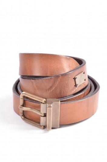 Dolce & Gabbana Cinturón Placa Hombre - BC3811 A1182