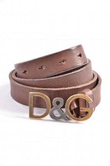 Dolce & Gabbana Cinturón Logo Hombre - BC3784 A1556