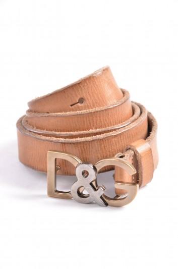 Dolce & Gabbana Men Logo Belt - BC3734 A1556