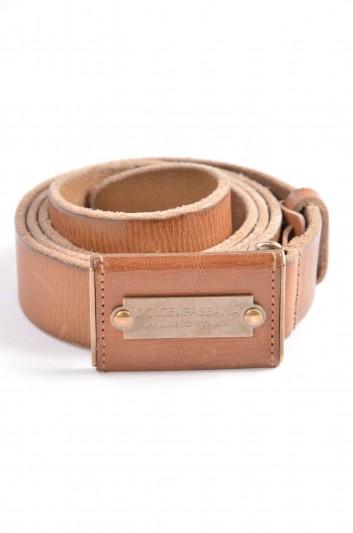 Dolce & Gabbana Cinturón Placa Hombre - BC3643 A1556