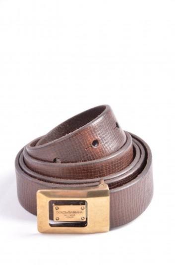 Dolce & Gabbana Cinturón Placa Hombre - BC012D A0022