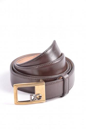Dolce & Gabbana Cinturón Logo Hombre - BC3762 A1222