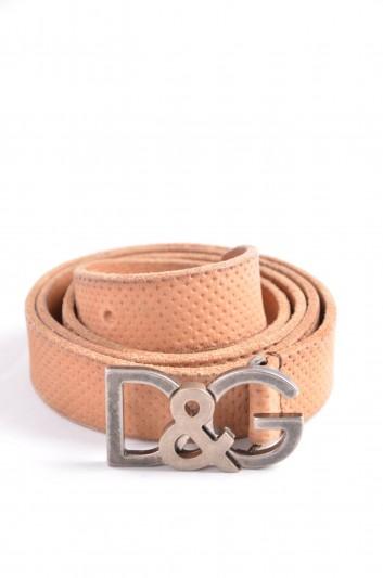 Dolce & Gabbana Men Logo Belt - BC076D A0022