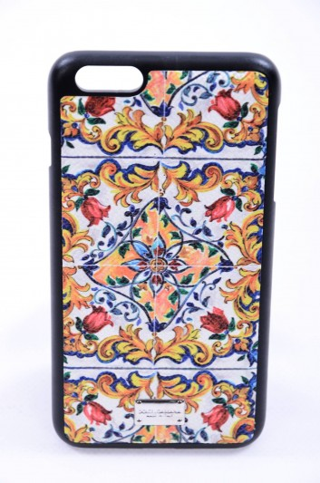 Dolce & Gabbana Funda Iphone 6/6S Plus Estampado Maiolica Mujer - BI2126 AC597