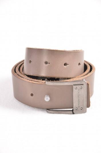 Dolce & Gabbana Cinturón Logo Hombre - BC3881 A1518