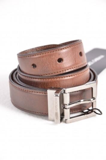 Dolce & Gabbana Men Logo Belt - BC3614 A1032