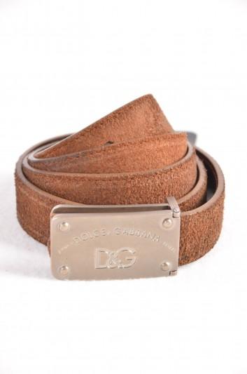 Dolce & Gabbana Cinturón Placa Hombre - BC3864 A7734
