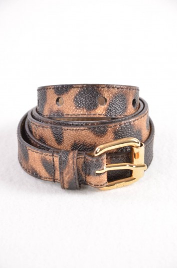 Dolce & Gabbana Women Print Animal Belt - BE0929 B9392