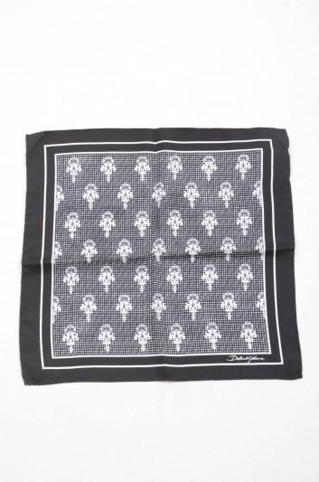 Dolce & Gabbana Men Silk Handerkerchief - GR412E G0WKG