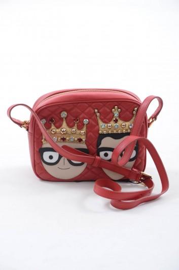 Dolce & Gabbana Women Kings Leather Shoulder Bag - BB6294 AI675
