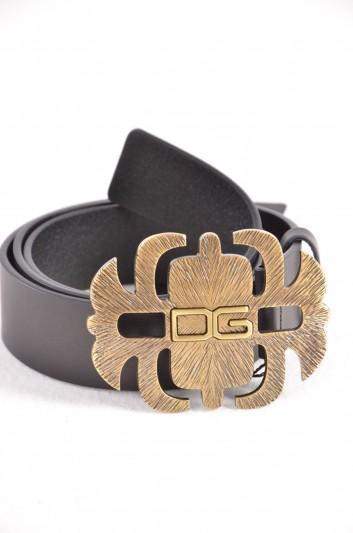 Dolce & Gabbana Cinturón Logo Hombre - BC3931 B6165
