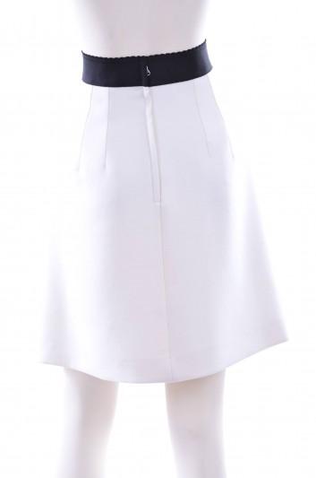 Dolce & Gabbana Women Per Te Mamma Embroidery Short Skirt - F4AGYZ FU2TS