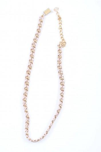 Dolce & Gabbana Cinturón Cadena Placa Mujer - BE1092 A1419