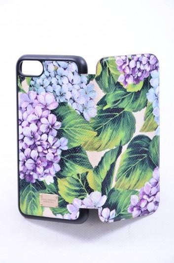 Dolce & Gabbana Funda Iphone 7/8 Estampado Hortensia Mujer - BI2239 AI358