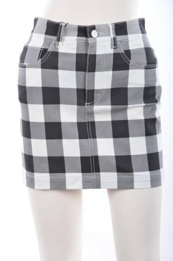Dolce & Gabbana Women Squares Print Short Skirt - F4Y50D G8936