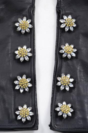 Dolce & Gabbana Women Long Jeweled Gloves - BF0131 AC546