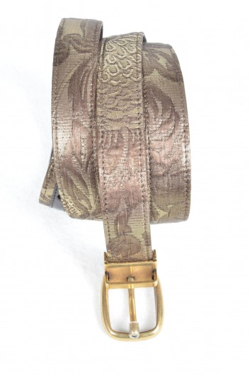 Dolce & Gabbana Cinturón Brocado Hombre - BC3953 B9358