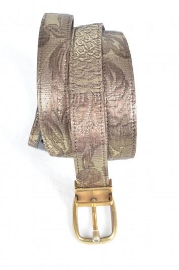 Dolce & Gabbana Men Brocade Belt - BC3953 B9358
