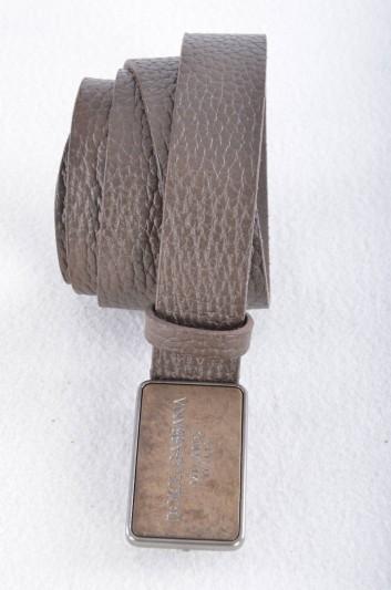 Dolce & Gabbana Men Plate Belt - BC3793 AC161