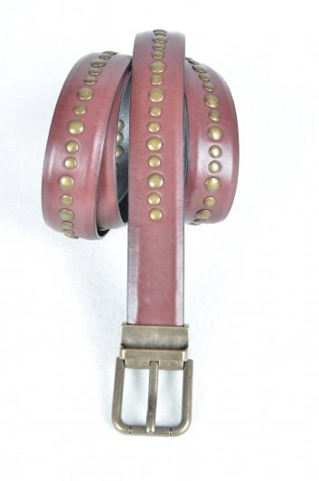 Dolce & Gabbana Cinturón Tachuelas Hombre - BC4046 AC371