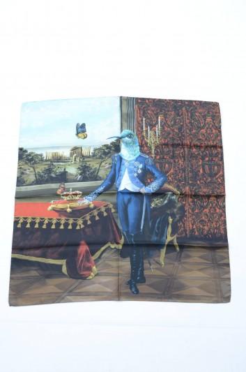 Dolce & Gabbana Pañuelo Pàjaro Estampado Mujer - IF634W G9003