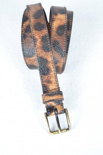 Dolce & Gabbana Cinturón Estampado Leopardo Mujer - BE0869 B7158