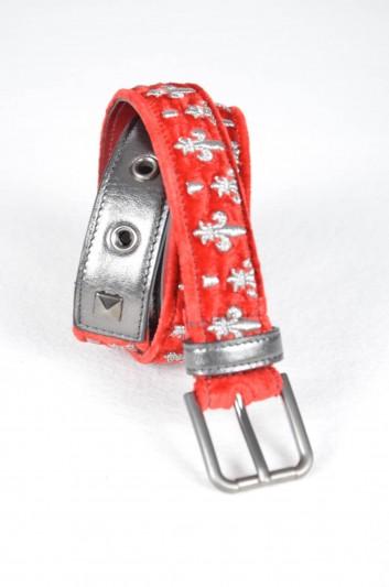 Dolce & Gabbana Women Velvet Belt - BE1083 AF073